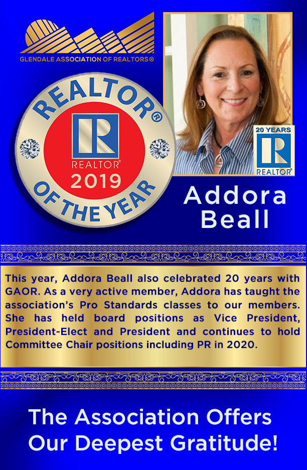 2019 GAOR Realtor of the Year